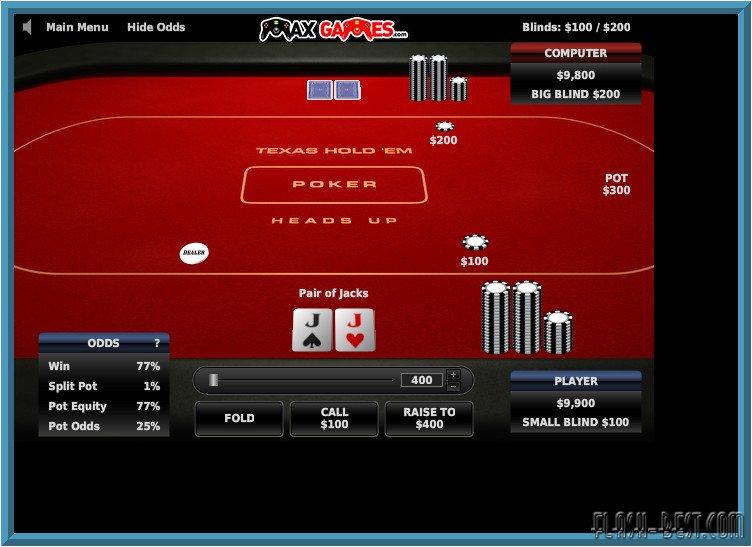 Texas holdem poker flash games online