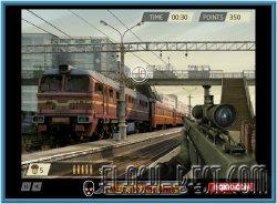 СНАЙПЕР ЗА РАБОТОЙ (Trainyard Shootout)